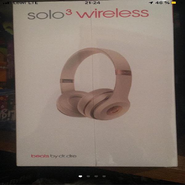 Beats solo3 wireless a estrenar