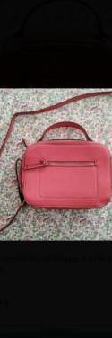 Bolso bandolera rosa un solo uso