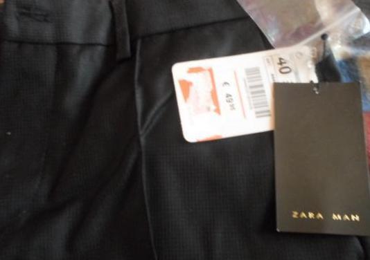 Conjunto de dos pares de pantalones zara