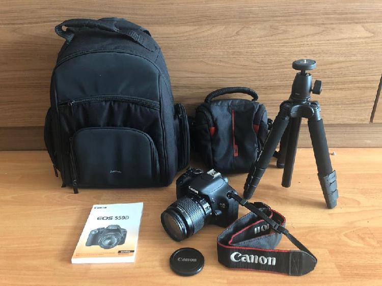 Camara de fotos canon eos 550d