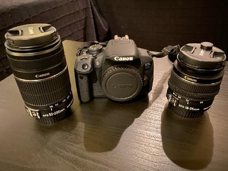 Canon 700d kit fotógrafo completo