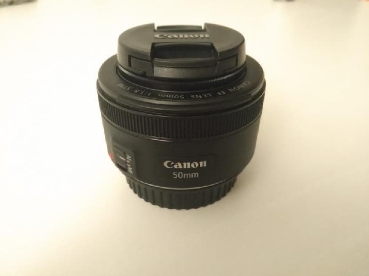 Canon ef 50mm f/1.8 stm + filtro uv