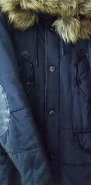 Chaqueta abrigo de zara man.