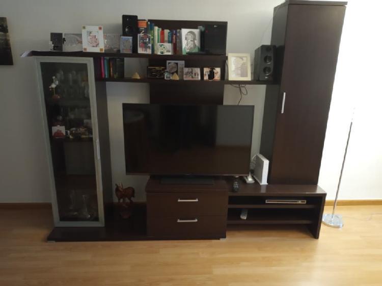 Conjunto comedor: mueble+mesa+sillas+mesita