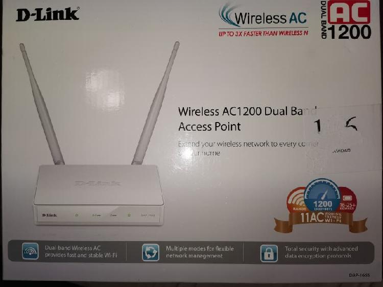 D-link dap 1665 punto de acceso wireless ac1200