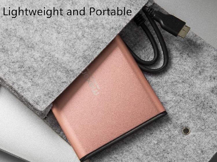 """Disco duro externo 500gb, 2.5"""", usb 3.0 ultrafino"""