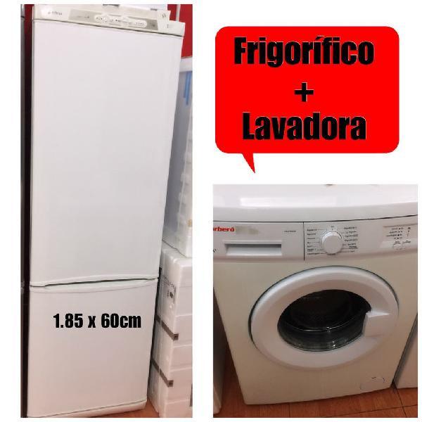 Frigorífico +lavadora con garantía