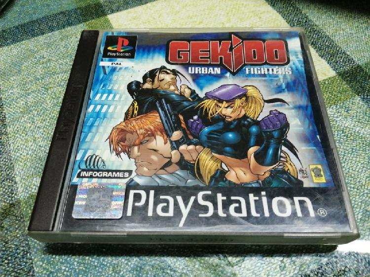 Gekido pal españa completo ps1 psx psone play