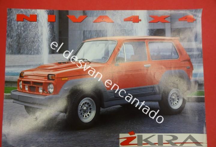 Lada ikra. folleto español con especificaciones