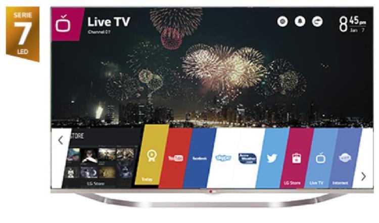 "Lg 55"" smart tv 3d"
