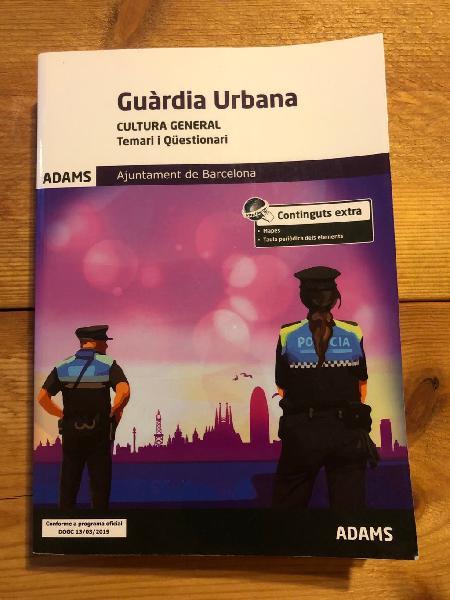 Libro cultura general guardia urbana
