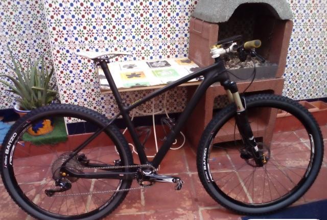 "Mtb bikercarbono 29"", 9'37 kg"