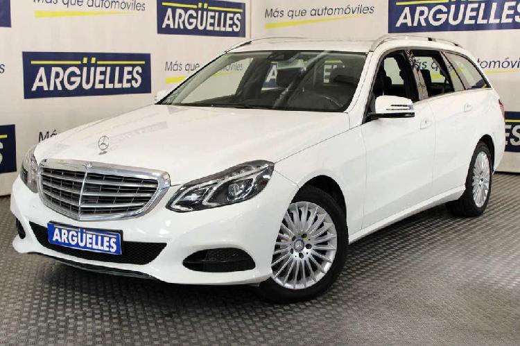 Mercedes clase e e 350 d estate 4matic 252cv muy equipado