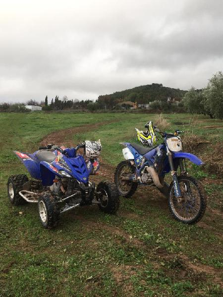 Moto cross yamaha yz 125cc 2t