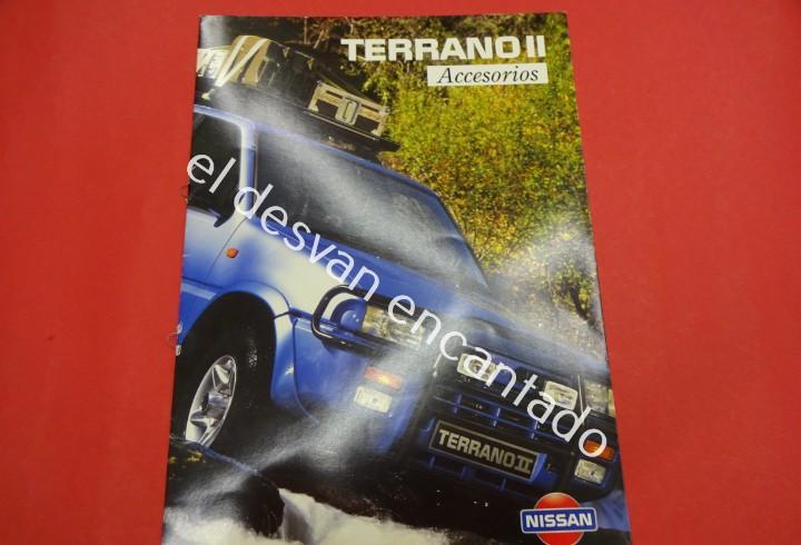 Nissan terrano ii. catálogo accesorios