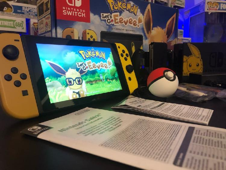 Nintendo switch + 3 juegos
