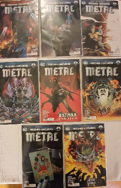 Noches oscuras: metal 0 a 7 (completa)