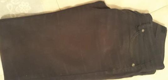 Pantalon negro talla 36 marca stradrivaruis