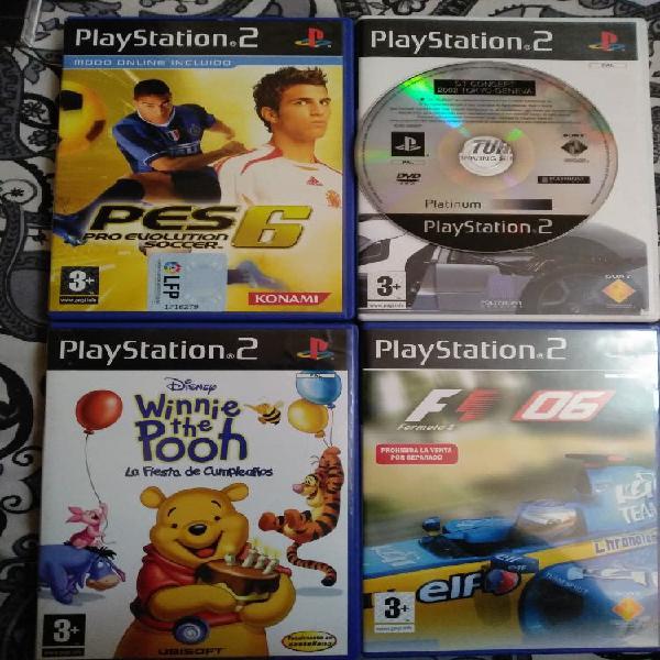 Pack juegos playstation 2