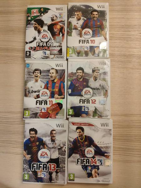 Pack juegos pro evolution soccer wii