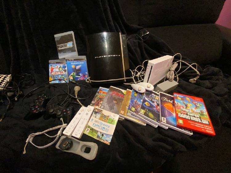 Playstation3 + Wii + juegos