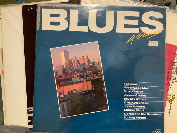 Recopilatorio blues (2xlp, 1987)
