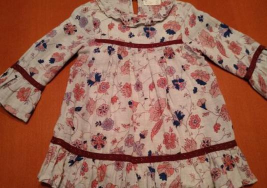 Vestido zippy niña al codo
