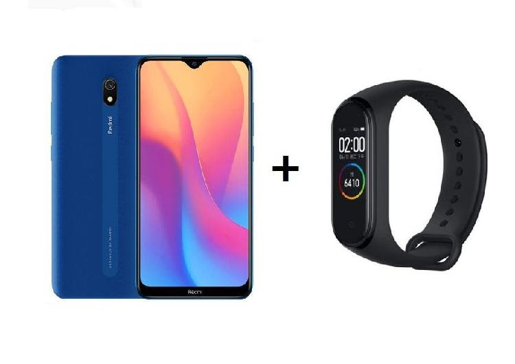Xiaomi redmi 8a 32gb azul + regalo smartband nuevo