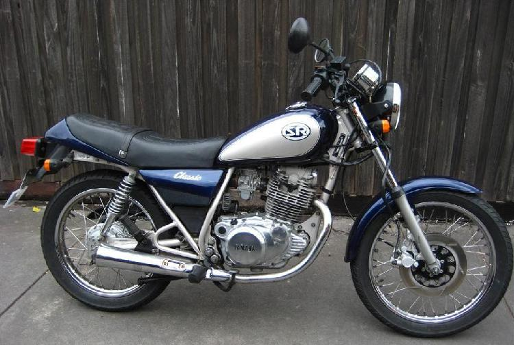 Yamaha sr 250 classic