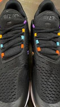Zapatillas nike air max 270 black/flash crims