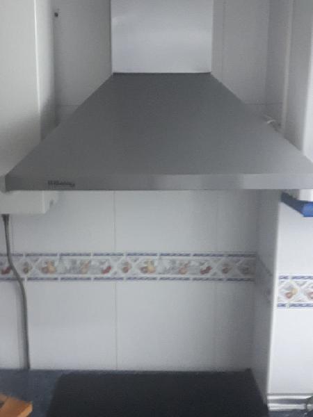 Conjunto de horno, vitrocerámica y campana