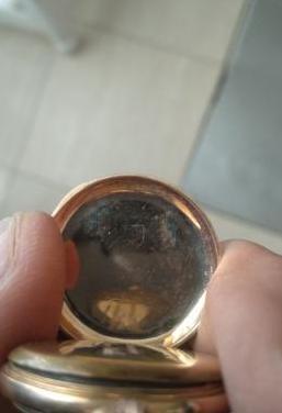 Reloj bolsillo remontoir oro 18k