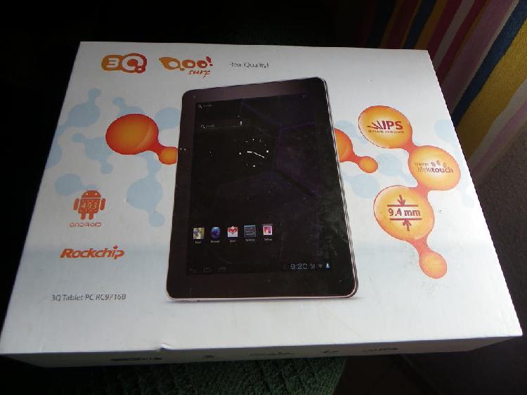 Tablet pc q3 qoo surf, pantalla rota en su caja