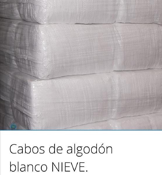 Trapo blanco algodón 100x100