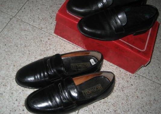 Zapatos caballero, piel, cuero, t40