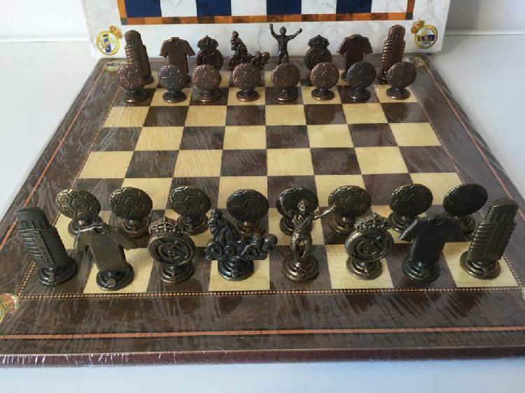 2 juegos de ajedrez del real madrid