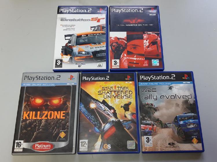 5 juegos play station 2