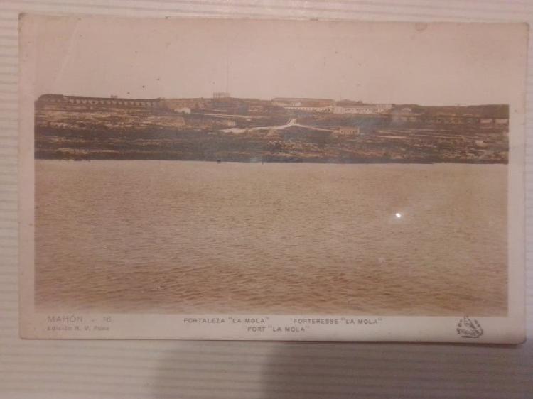 Antigua postal de mahón