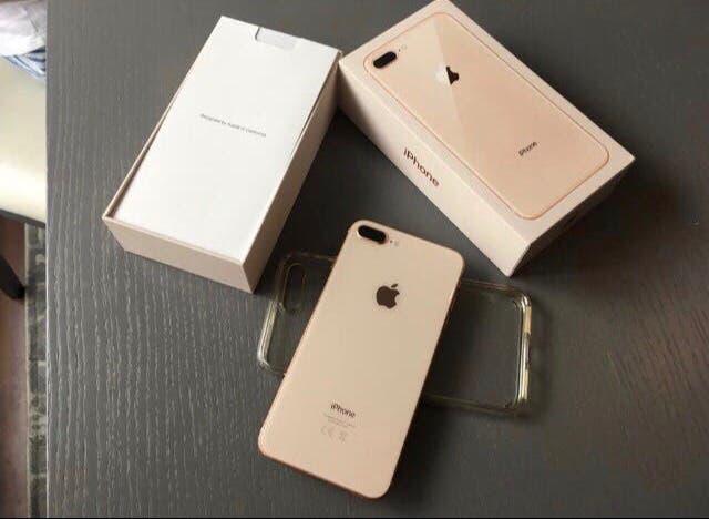 Apple iphone 8 plus gold/oro