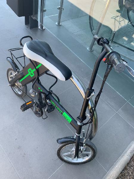 Bici electrica plegable funciona correctamente