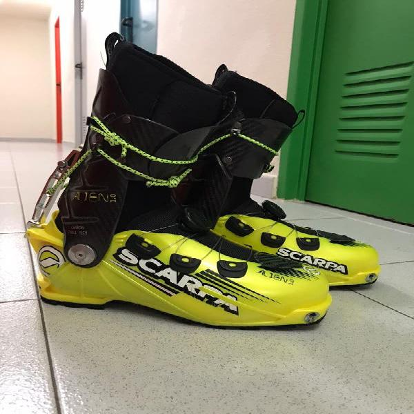 Botas scarpa alien 1.0