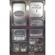Cubeta gastronorm 14 inox 1810 65 mm