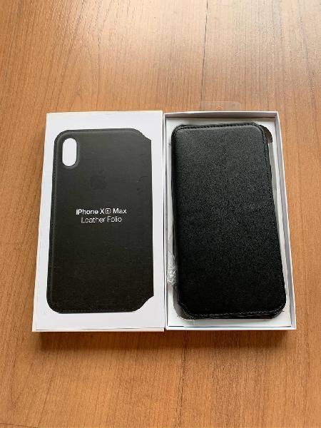 Carcasa cuero iphone xs max libro