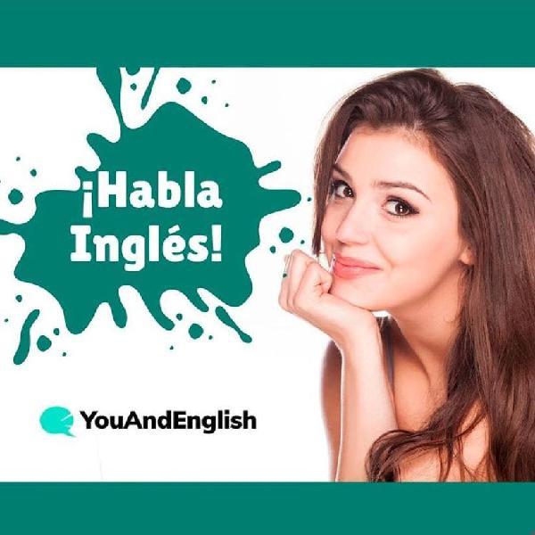 Clases particulares de inglés - 55 minutos 1 to 1