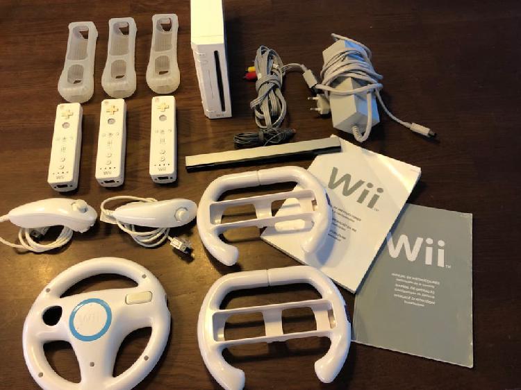 Consola wii pack + muchos juegos !!