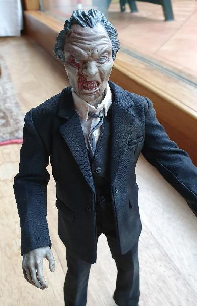 Custom 1/6 zombie the night of the living dead
