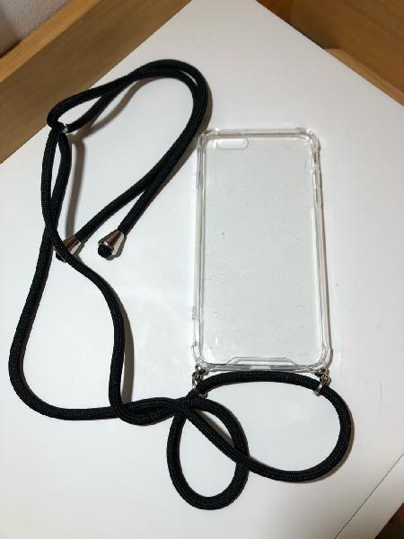 Funda iphone 6 plus con correa