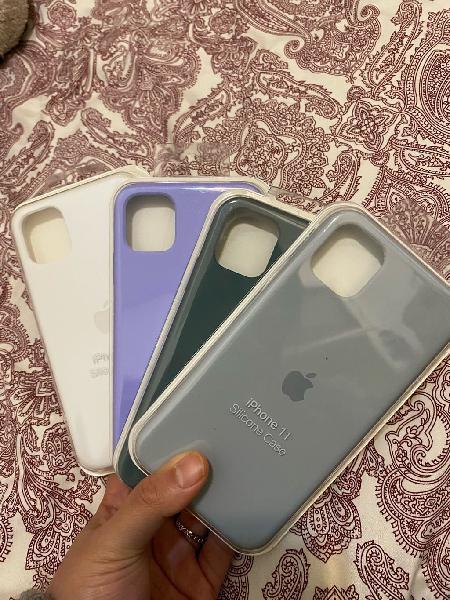 Funda silicona iphone 11 6.1