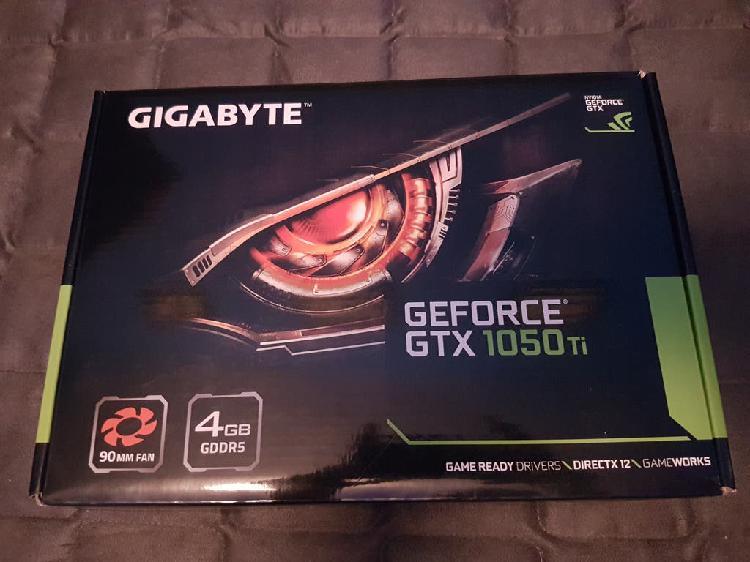 Geforce gtx 1050 ti 4gb gddr5