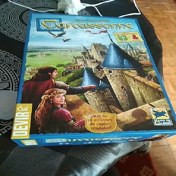 Juego divertido carcassonne